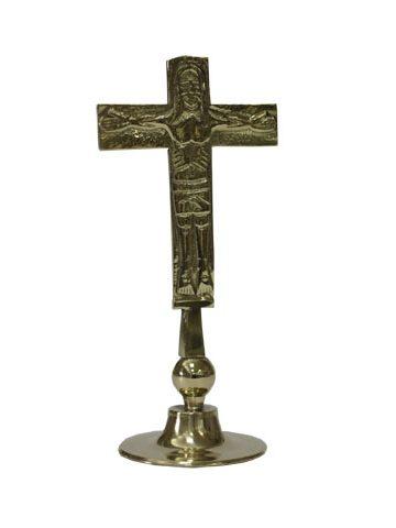 croce lodi piccola in ottone