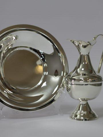 lavabo in silver