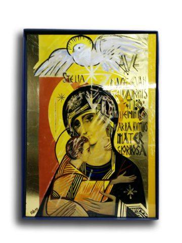 Madonna del III millennio oro