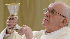 vino papa messa