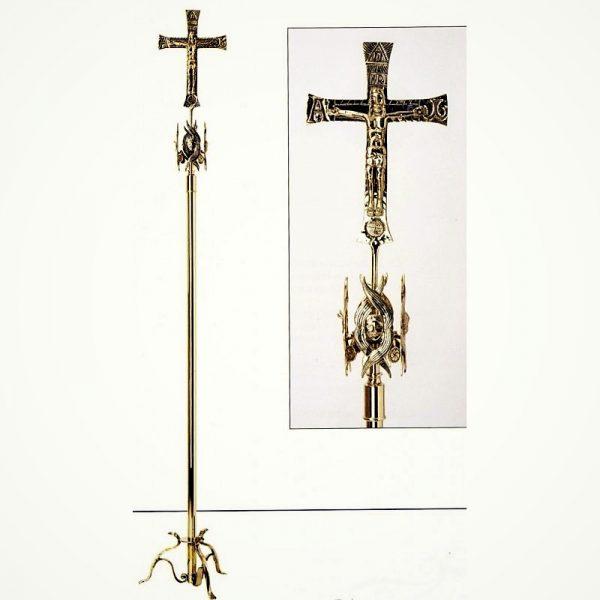 croce astile merkabah oro