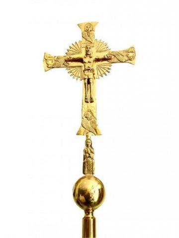 croce astile mondo